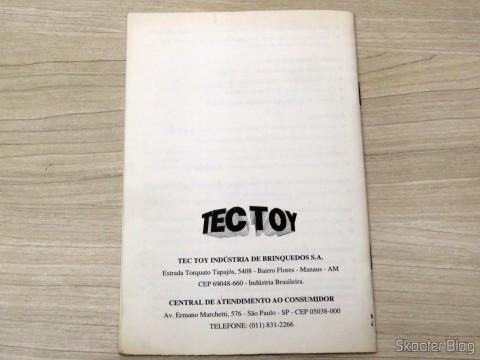 Manual de Instruções do Mega Drive III