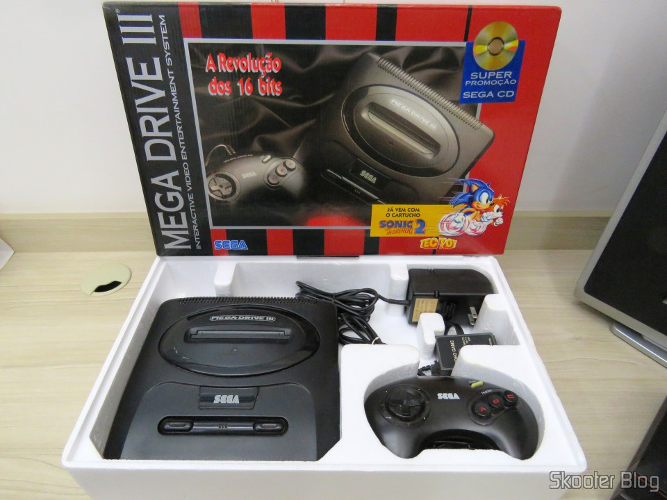 Mega Drive III da Tec Toy: Packaging and Accessories - Part 2