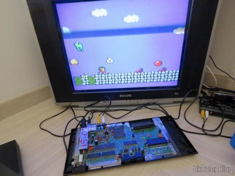 Ajuste do Trimpot do Master System II em TV CRT