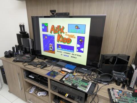 Ajuste do Trimpot do Master System II em TV LCD