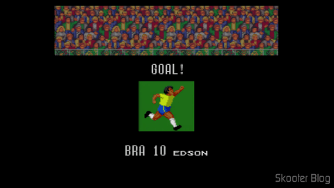 Super Soccer - Super Nintendo: Edson, hein? Realized what you have done here ....