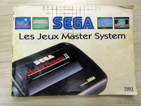 Catálogo Francês de Jogos do Master System