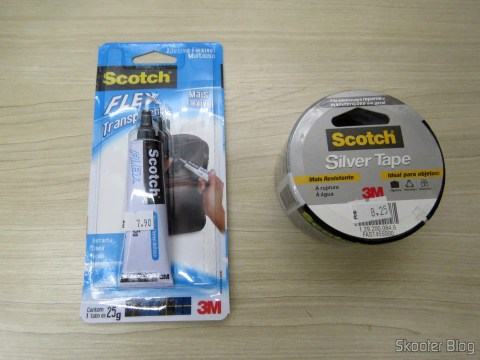 Flexible adhesive Multipurpose Scotch Flex transparent and Duct Tape Scotch: Duct tape for repairs and General Maintenance