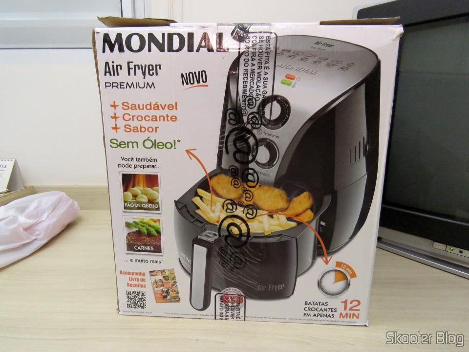 Fritadeira El 233 Trica Mondial Air Fryer Preto Skooter Blog