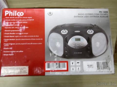Rádio Portátil Philco PB120N, AM / FM, Reproduz CD / CD-R / RW / MP3 e WMA, Entrada USB