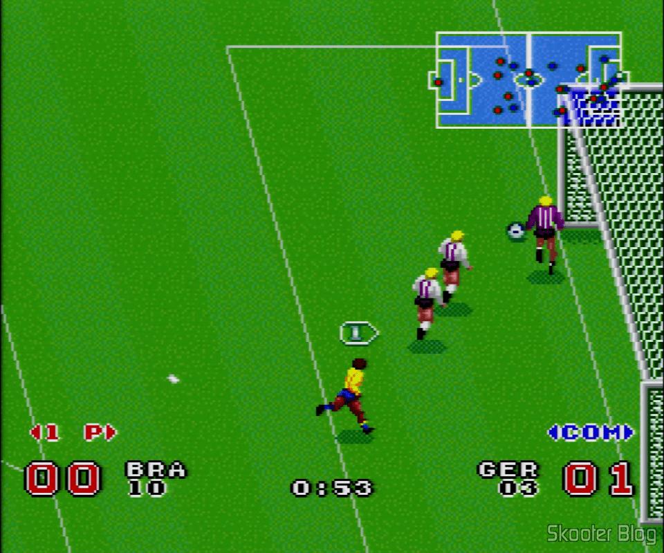 Goal Super Cup Soccer Super Goal Super Nintendo