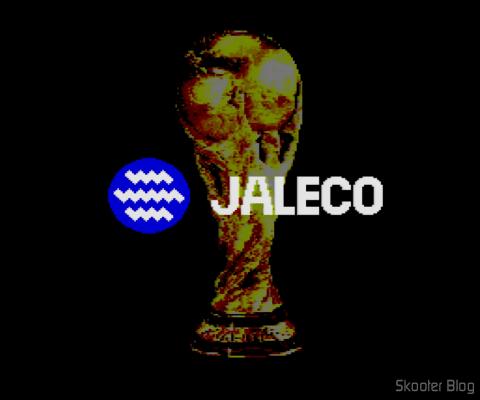 Goal! - No final, o troféu da Copa e o logotipo da Jaleco
