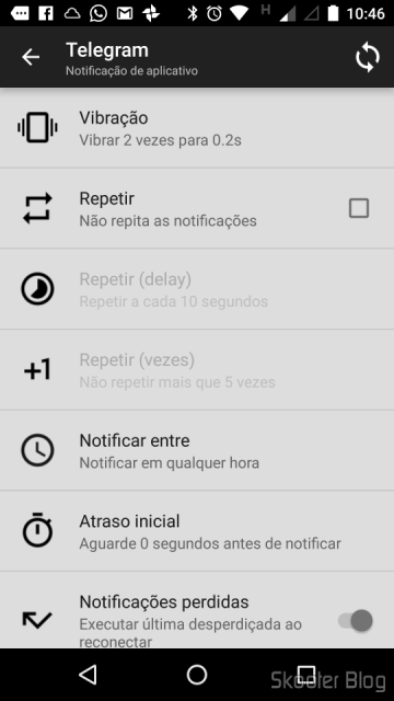 Notificações personalizadas no Mi Band Tools