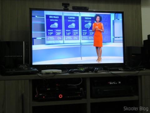 Módulo de TV Aberta Sky HDTV SIM25 (S-IM25-700), já instalado no SHR23 e funcionando
