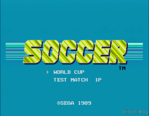 The first version of the game was just Soccer in the Americas