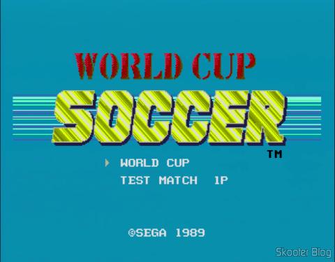 Em consoles japoneses, o nome do jogo é World Cup Soccer