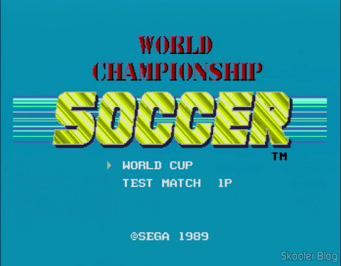 In American or European Islands, the name of the game's World Championship Soccer