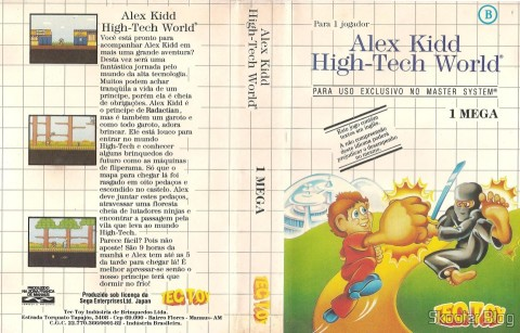 Cover of Tec Toy to Alex Kidd - High Tech World