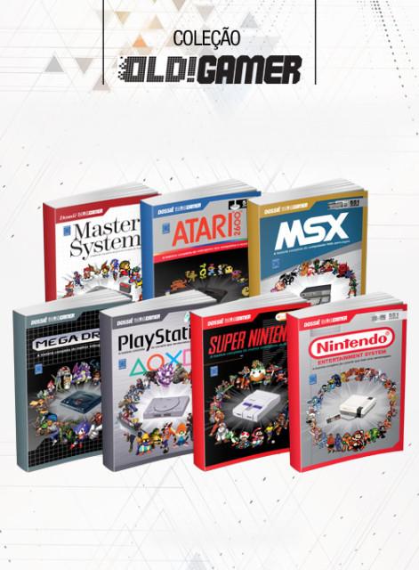 Coleção Dossiê OLD!Gamer - 7 volumes