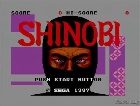 Opening of the Shinobi - Master System