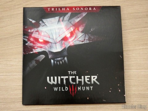 CD com a trilha sonora de The Witcher 3: Wild Hunt (Playstation 4)