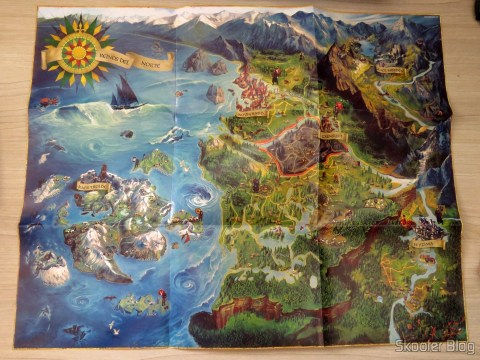 Mapa do mundo de The Witcher 3: Wild Hunt (Playstation 4)
