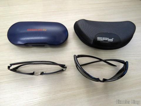 Óculos de Sol com Grau - G4U 2104 com lentes 1.57 CR39 e Óculos de Sol Spy