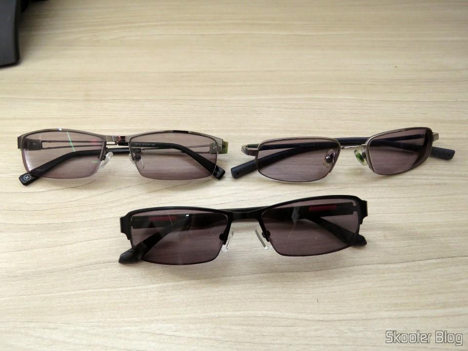 243fb1e7b Óculos de Sol com Grau - G4U 2104 com lentes 1.57 CR39, Óculos G4U 79012