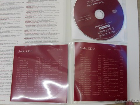 CDs que acompnham o livro International Legal English Student's Book with Audio CDs (3): A Course for Classroom or Self-study Use
