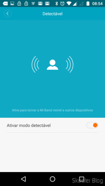 Making the Mi Band detectable