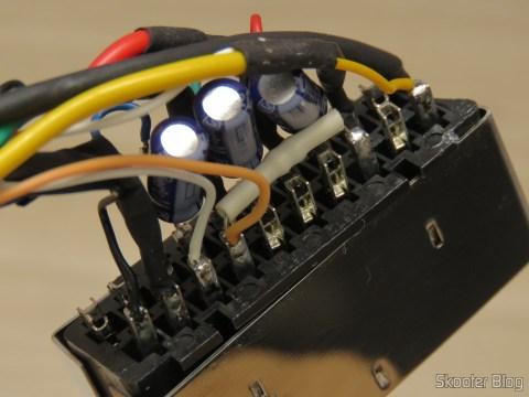 Plug SCART do Cabo SCART RGB para Playstation One (Sync-on-Luma) com upgrade para Multicore Coax