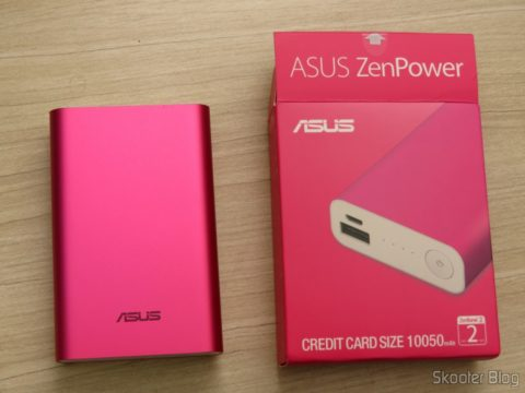 Carregador Portátil ASUS Power Bank Zenpower 10050 mAh