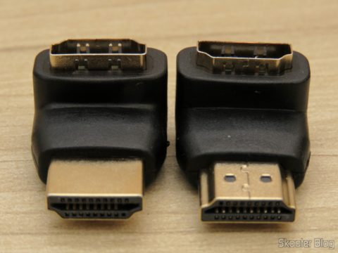 Adaptadores HDMI angulares