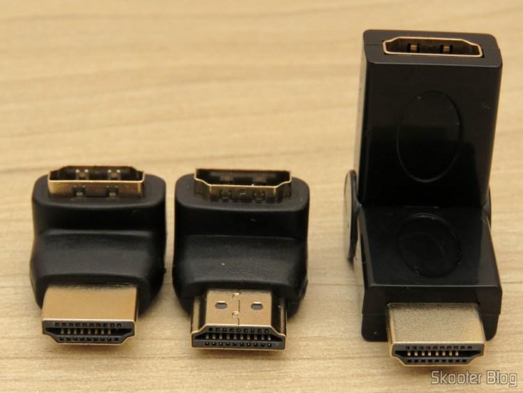 Adaptadores HDMI Angulares (em L) e Rotativo