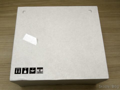 Blu-ray writer BDR-209 DBK Pionner, on its packaging