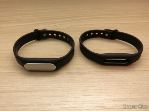 Replacement bracelet for Mi Band - Genuine Xiaomi, alongside the accompanying bracelet Mi Band 1S
