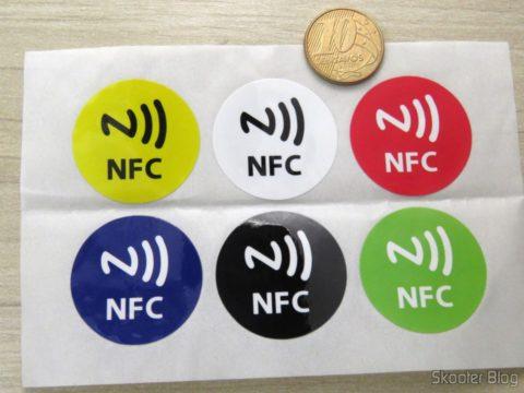 6 Etiquetas / Tags NFC / RFID