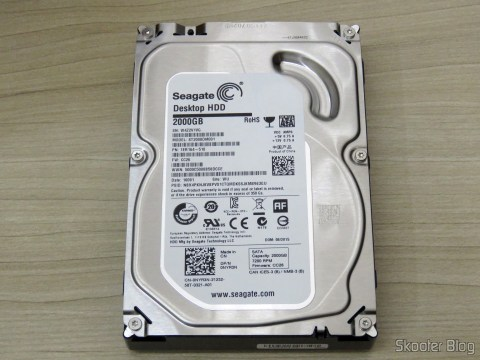 HD Seagate Desktop HDD 2000GB ST2000DM001