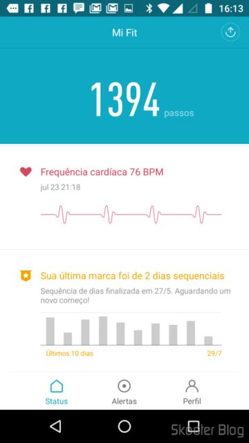Mi Fit: Batimentos Cardíacos