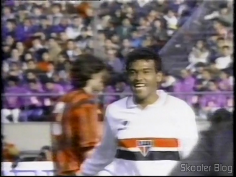 São Paulo won the Milan and becoming world champion in 1993