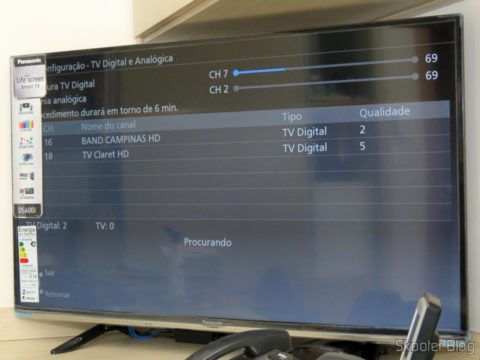 "Sintonizando canais na Smart TV Panasonic Viera 40"" - TC-40DS600B"