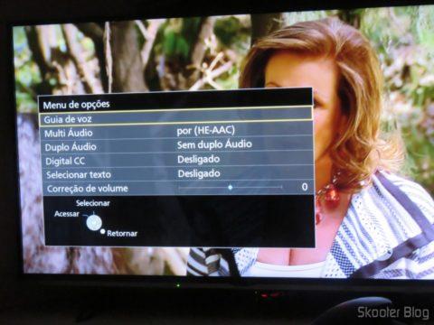 """Opções na Smart TV Panasonic Viera 40"""" - TC-40DS600B"""