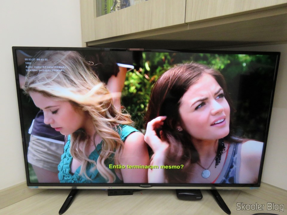 "Smart TV Panasonic Viera 40"" - TC-40DS600B"