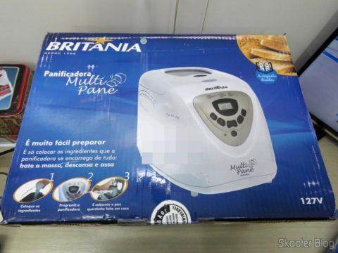 Panificadora Britania Multi Pane, on its packaging