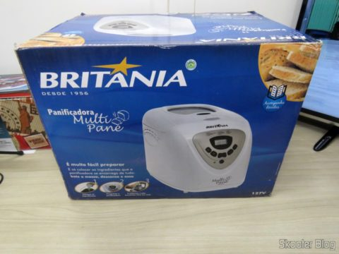 Panificadora Britania Multi Pane, on its packaging
