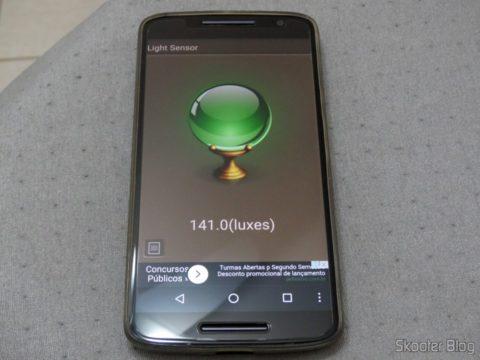 Sensor de Luminosidade com as 3 Lâmpadas Ourolux Superled Ouro 60 6W iligadas