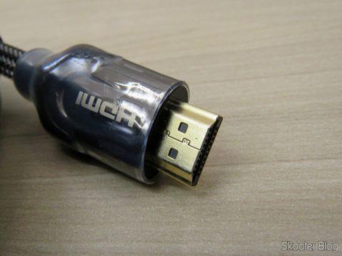 Plug do Cabo HDMI 2.0 4K 3D 60Hz Vention de 5 metros