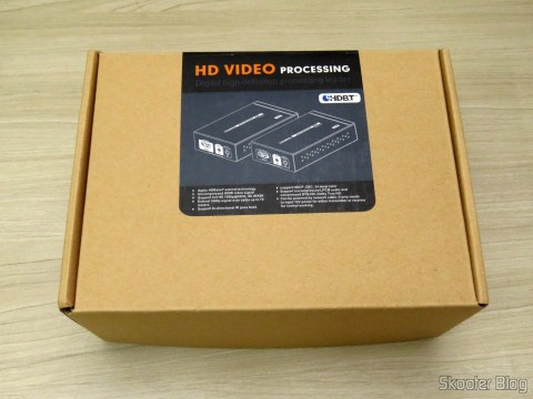 Lenkeng LKV375 HDBaseT HDMI Extender in your package