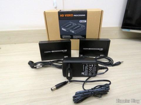 Todos os itens do Extensor HDMI Lenkeng LKV375 HDBaseT