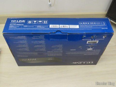 Switch Easy Smart Gigabit de 16 Portas TP-Link TL-SG1016DE, em sua embalagem