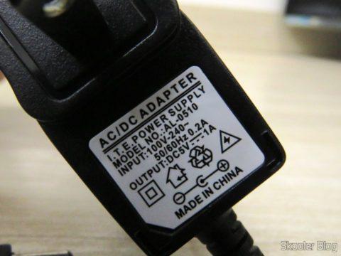 Fonte de Alimentação do Decodificador e Extrator de Áudio HDMI para HDMI, SPDIF e Analógico 5.1