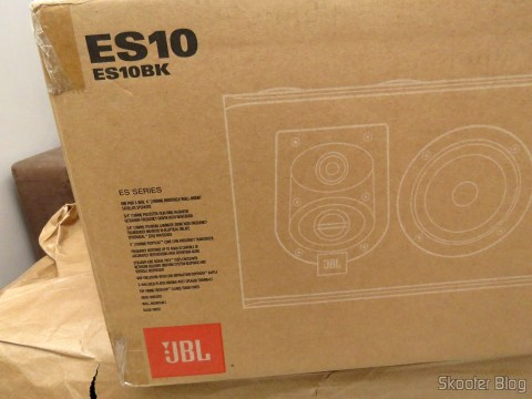 JBL speakers in their packaging