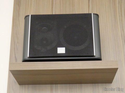 Caixa Acústica JBL ES10 como frontal superior