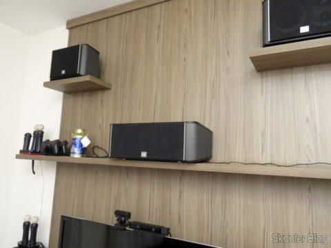 Caxa Acústica JBL ES25, instalada