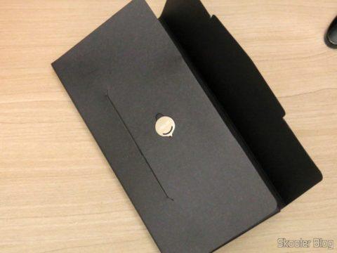 Ferramenta para abertura da gaveta de cartões do Smartphone Asus ZenFone 3 32GB Gold Dual Chip 4G